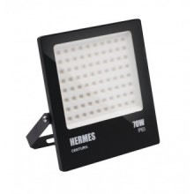 PROIETTORE LED HERMES NERO - 70W - 4000K - 7000Lm - IP65 - Color Box