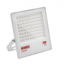 PROIETTORE LED HERMES BIANCO - 70W - 3000K - 7000Lm - IP65 - Color Box