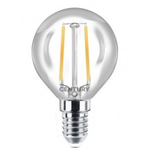 LAMP.FILAMENTO LED INCANTO SFERA - 2W - E14 - 2700K - 245Lm - IP20 - Color Box