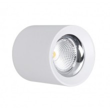 LAMP. SOFFITTO LED RONDO' BIANCO - 10W - 4000K - 800Lm - IP20 - Color Box