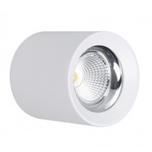 LAMP. SOFFITTO LED RONDO' BIANCO - 25W - 4000K - 2500Lm - IP20 - Color Box