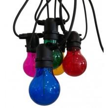 SOSP.INTERNO LED COLORFULL ARANCIONE - 30W - 3000K - 2500Lm - IP65 - Color Box
