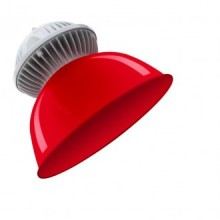 SOSP.INTERNO LED COLORFULL ROSSO - 10W - 3000K - 850Lm - IP65 - Color Box