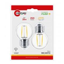 LAMP.CLASSICA CFL SPIRALE MICRO - 2W - E27 - 2700K - 150Lm - IP20 - Color Box